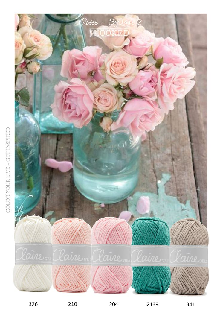 Kleurinspiratie Roses ByClaire2