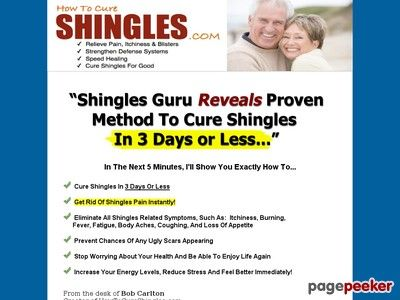 Fast Shingles Cure  The #1 Shingles Treatment Method Available