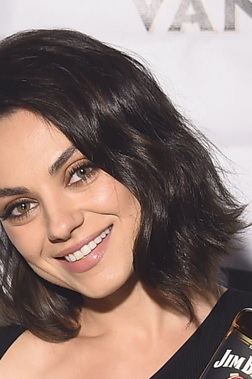 Mila Kunis's New Mom Bob Is So Chic and Doable via @PureWow