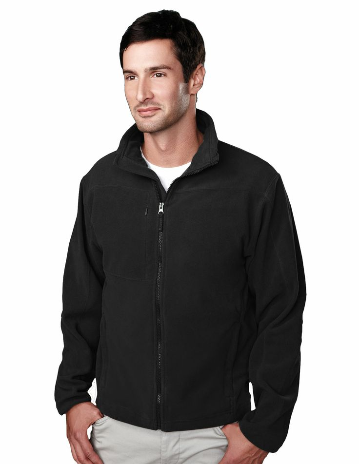 Micro Fleece Jacket Recycled Poly/Poly Tri mountain 7385 #fleece #Trimountaingold #Trimountain #Menswear #men