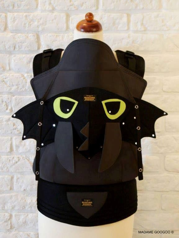 ♥ THE DRAGON baby carrier ♥ If you have any questions, please contact me: info@madamegoogoo.com