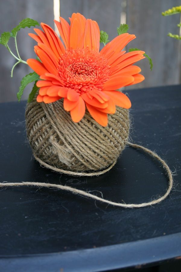 Amazing Spools Twine Vases Great Pictures