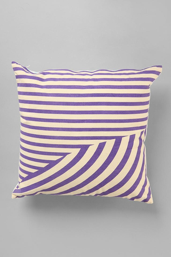 Assembly Home Twisted Stripe Pillow #urbanoutfitters