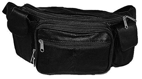 New Trending Luggage: Extra Large Soft Lambskin Leather Fanny Pack with Smartphone Pocket. Extra Large Soft Lambskin Leather Fanny Pack with Smartphone Pocket  Special Offer: $19.50  255 Reviews Extra large size fanny pack. Outer organizer holds 3 credit cards, ID, pen, key hook, zip mesh pouch. Large zip section behind. Two small pockets on each side. Inner organizer holds...