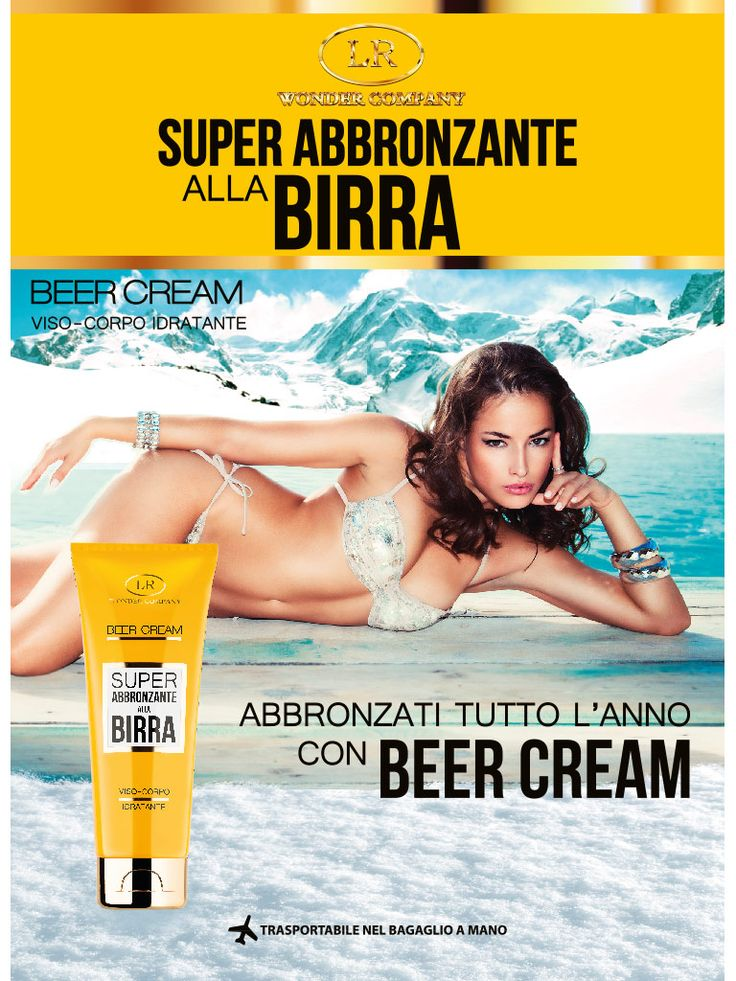 Beer Cream fronte brochure invernale