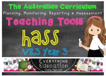 New Word Format!New Documents added!New January 2017 Australian CurriculumHASS - Incorporating History and Geography! ALSO NOW INCLUDES PLANNING TEMPLATES USING THE GRADUAL RELEASE OF RESPONSIBILITY MODEL!ALREADY USED BY A NUMBER OF AUSTRALIAN SCHOOLS!In Word AND PDF format!