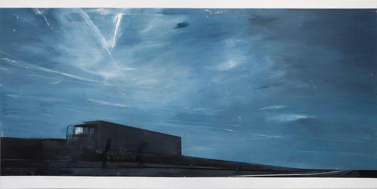 Carla Klein, Untitled, 2008, Oil on canvas, 190 x 390 cm
