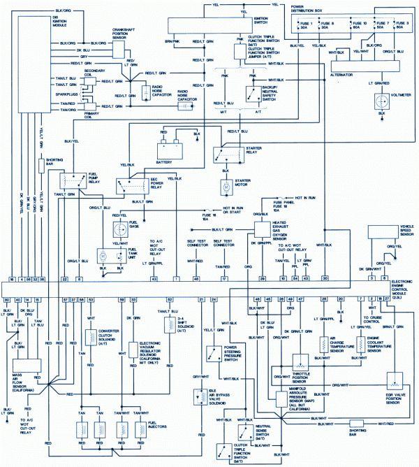 16 1986 Ford Ranger Engine Wiring Diagram Engine Diagram Wiringg Net Ford Ranger 2012 Ford Focus Ford Explorer