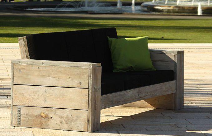 Das WITTEKIND Lounge 3er Sofa ist schon als solo Möbelstück ein echter Blickfang und der Hingucker in Ihrem Garten, auf der Terrasse oder dem Balkon.