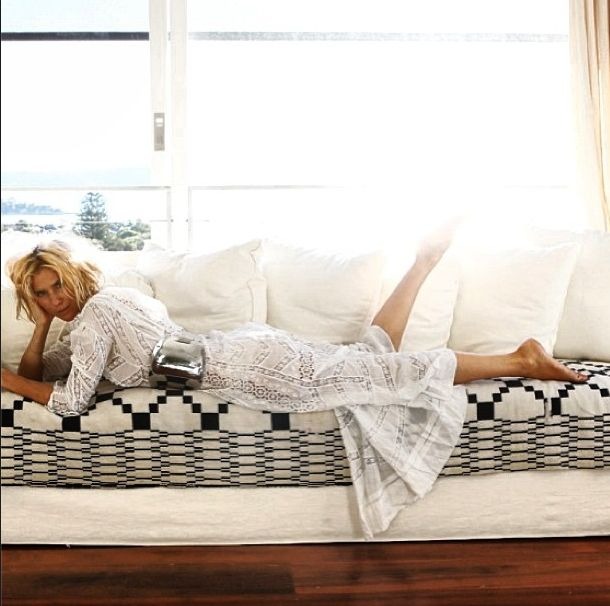 Sass & Bide graphic couch