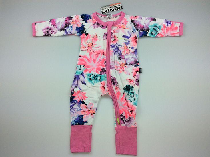 BONDS, Zip Wondersuit, brand new with tags (BNWT), size 000, $14 #babyfashion #bonds