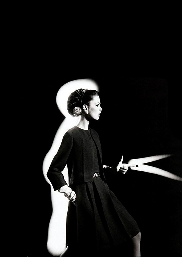 Yves Saint Laurent, 1962, by William Klein