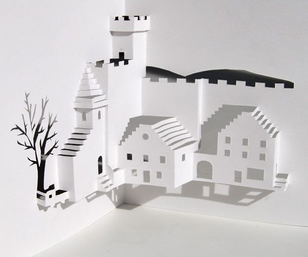 How to design pop-up cards #paper_craft #origamic