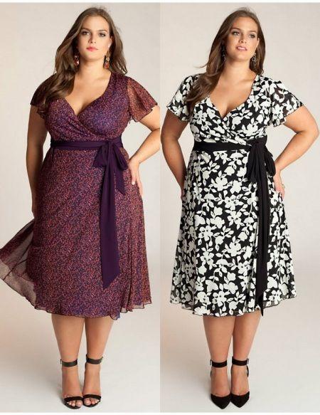 Мода 2014 для полных женщин, 90 фото, зима, весна, лето, осень