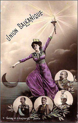 Balkanski savez 1912 - Balkan Union 1912