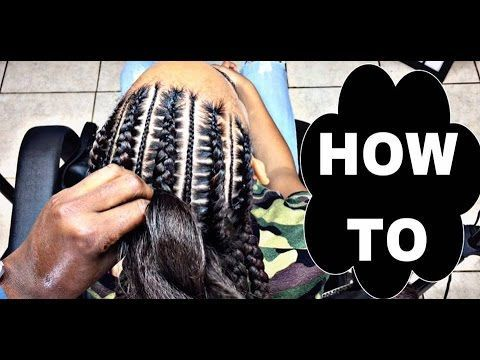 Stitch Braids 4 Beginners Video Full Sew In Weave