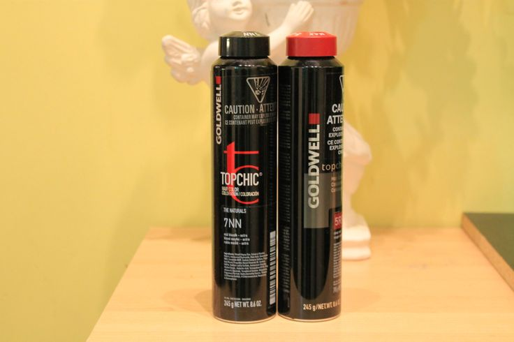 We carry Goldwell Hair Color