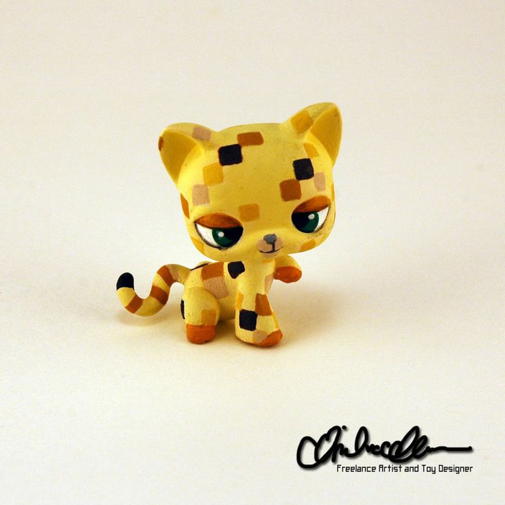 Baby Ocelot custom LPS by thatg33kgirl on DeviantArt