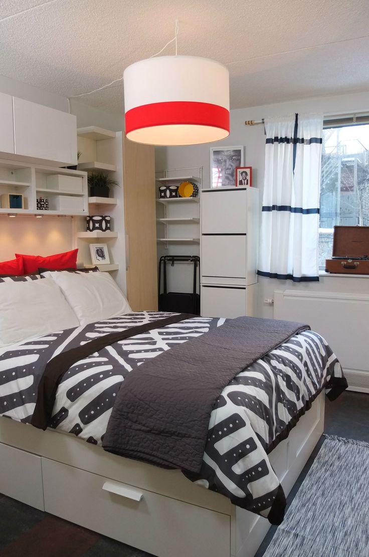 Best Kitchen Gallery: 90 Best Ikea Bedrooms And Bathroom Images On Pinterest Bedrooms of Ikea Small Guest Bedroom on rachelxblog.com