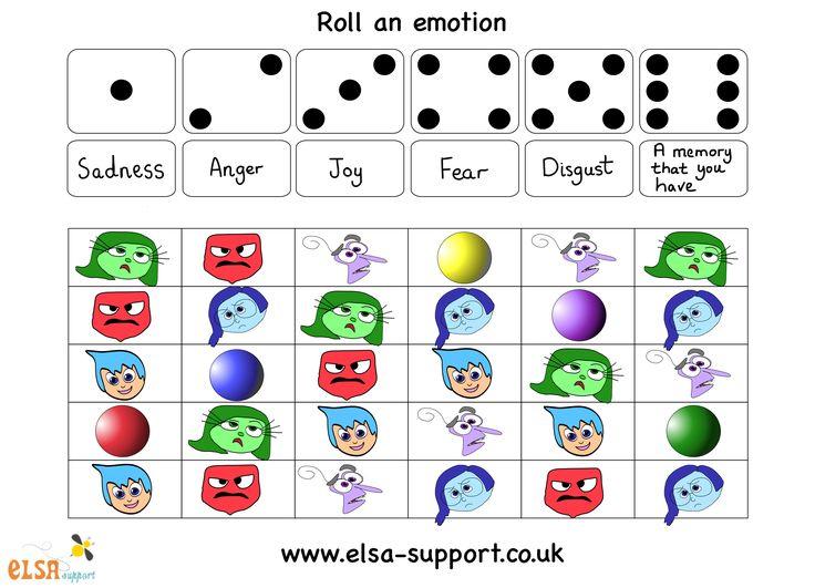 Roll an emotion