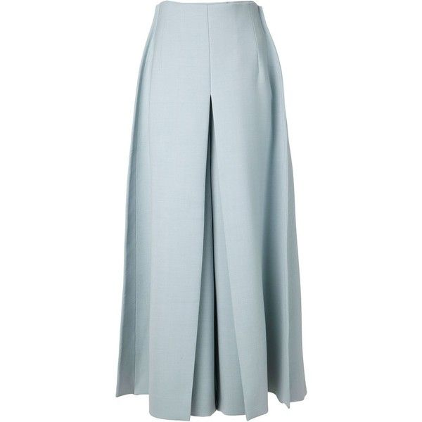 DELPOZO wide leg trousers (£1,888) found on Polyvore