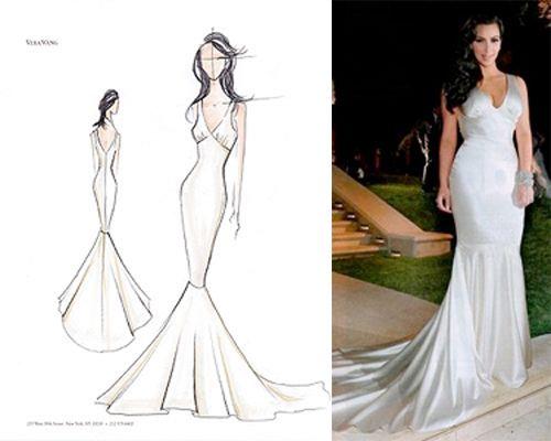 Kim Kardashian Wedding Dress | PreOwned Wedding Dresses