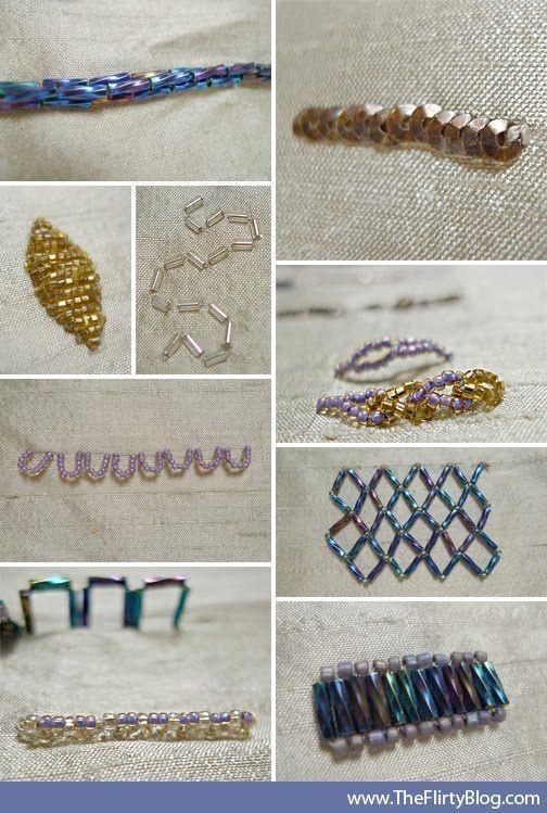 The Flirty Blog: A Monet Inspired, Silk, Hand Beaded, DIY Evening Purse