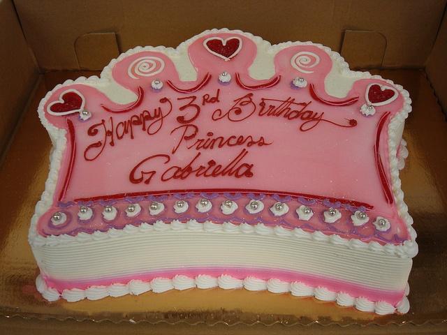 Princess Crown cake...