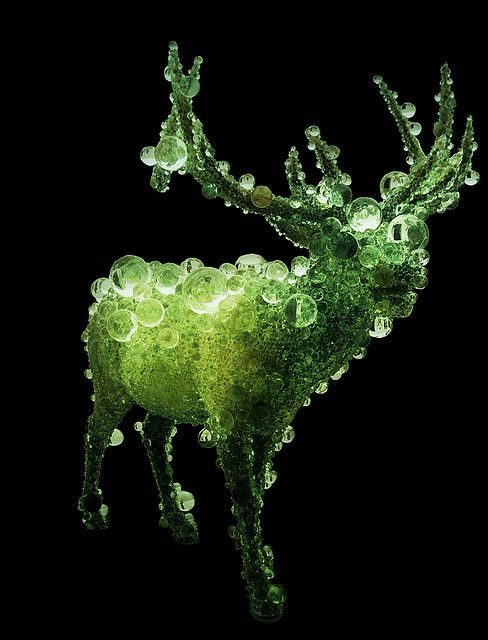 kohei nawa - pixcell elk #2 goma asia pacific triennial by Tony Mockeridge, via Flickr