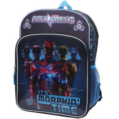 "2017 Power Rangers ""It's Morphin' Time"" Mini Backpack"