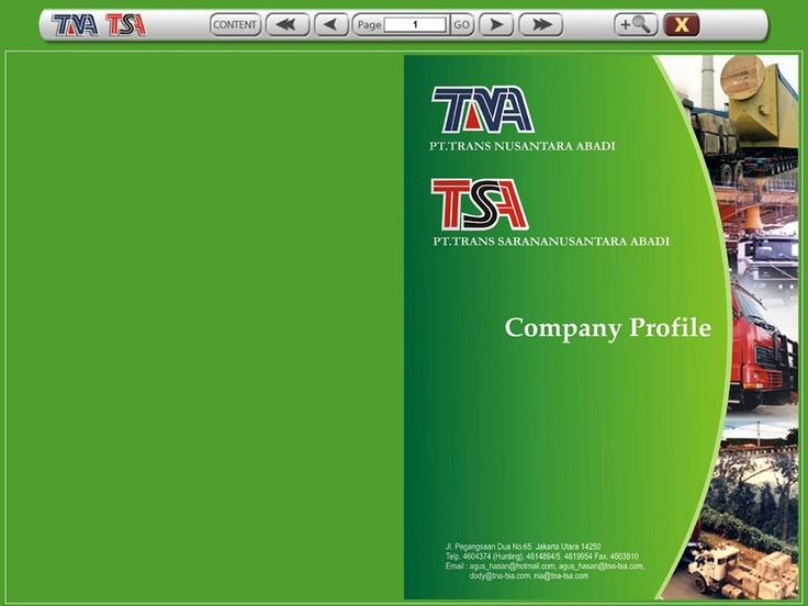PT.TNA Company Profile (cover page)