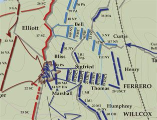 The Breakthrough at Petersburg, April 2, 1865