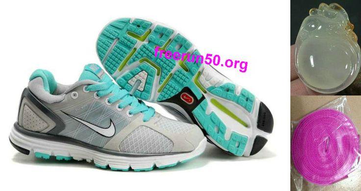 Womens Nike Lunarglide 2 Gray Jade Shoes