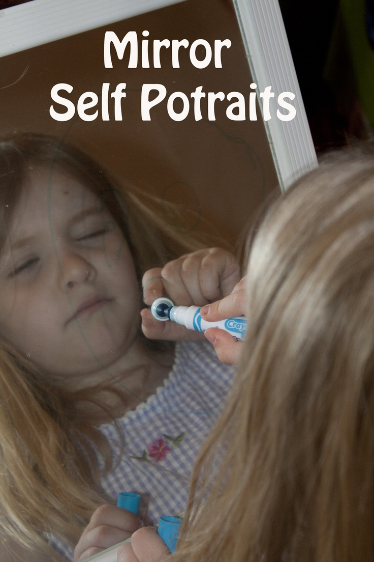 Life with Moore Babies: Self Potraits in a Mirror
