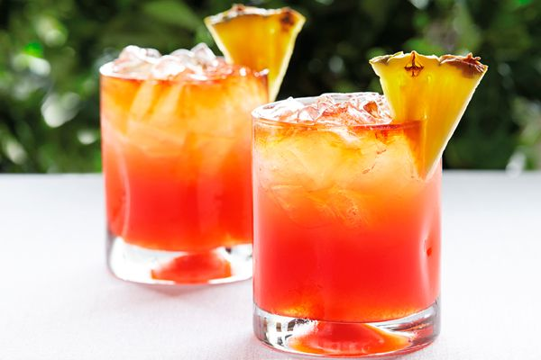 very fruity rum punch recipe caribbean rum punch and