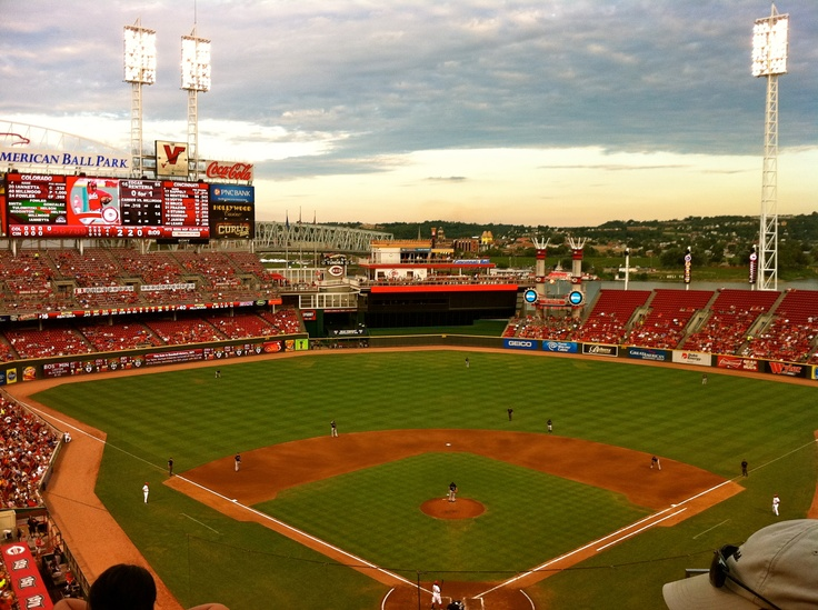 Cincinnati Reds Ballpark - This is a great ballpark! Hope to get back there this season!