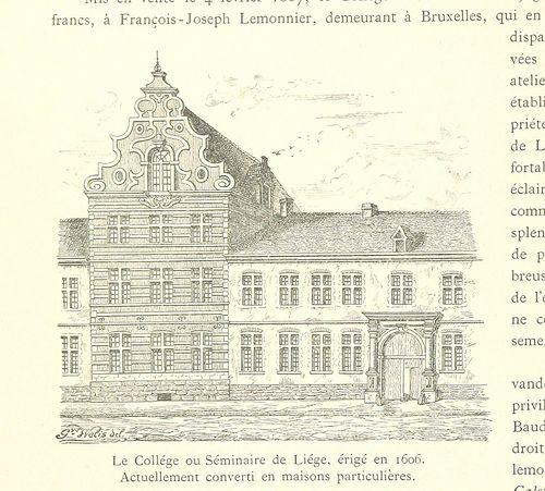 Image taken from page 702 of 'Louvain dans le passé et dans le présent: sous-sol-formation de la ville-événements mémorables, etc' by T...
