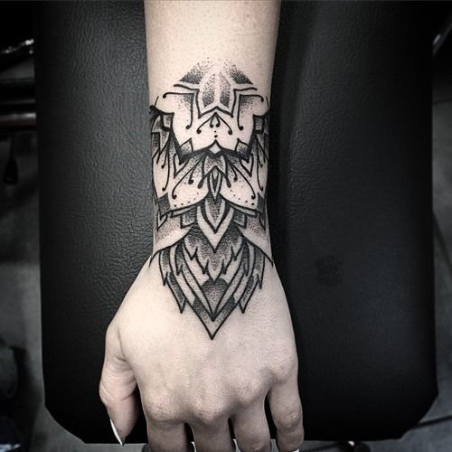 Mandala Wrist Tattoo Designs Ideas And Meaning: 35 Amazing Arm Mandala Tattoo Designs (10)
