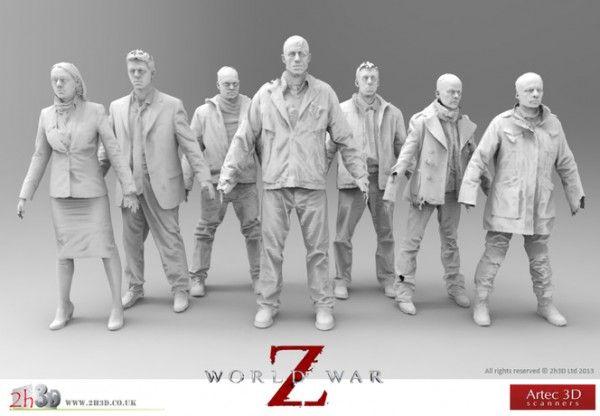 Des éléments de «World War Z» numérisés grâce au scanner 3D #3Dprinting