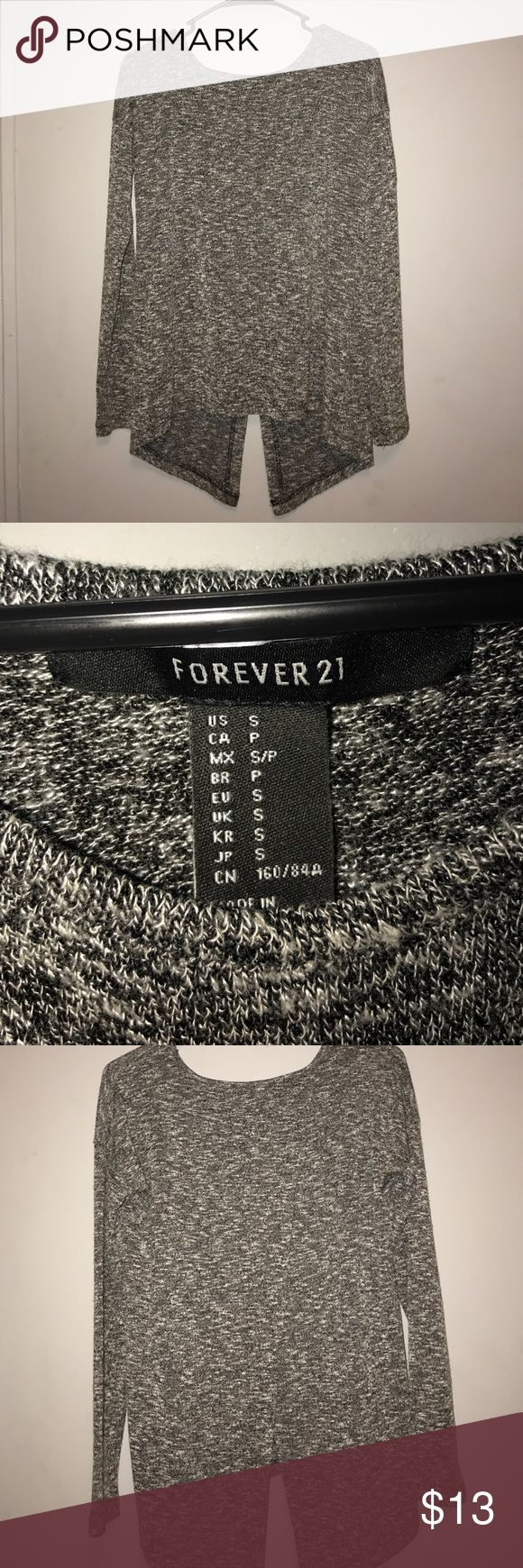 Forever 21 Top Forever 21 Knit Sweater-- Size Small-- Slit Back-- Worn at most five times Forever 21 Sweaters