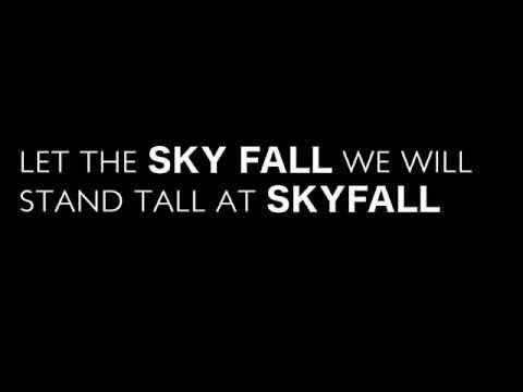 Skyfall - Adele (Lyrics)