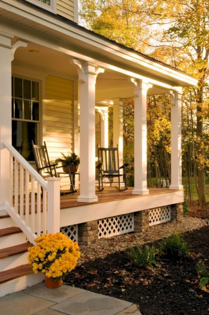 Top 25 best farmhouse front porches ideas on pinterest - Homes front porch designs pictures ...