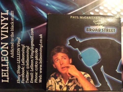 Paul McCartney Give My Regards To Broad Street LP Album Vinyl EL2602781 Pop 80's Music:Records:Albums/ LPs:Pop:1980s