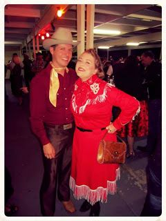 My Patsy Cline/Dale Evans inspired Western outfit for Greazefest 2013 http://rayondreams.blogspot.com.au/