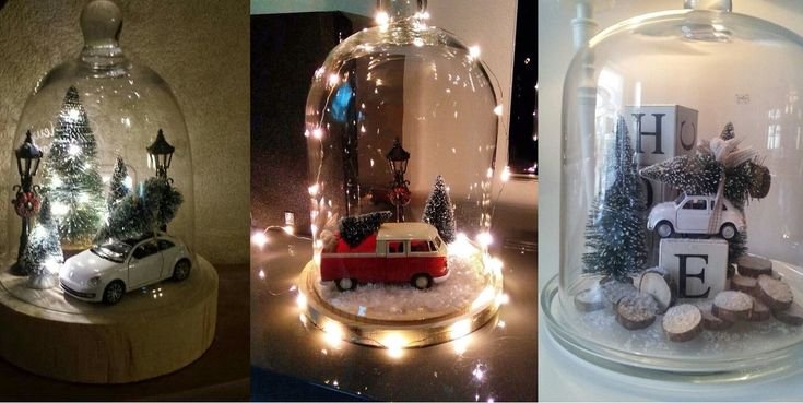 Bepaalde bekende merken verkopen deze autootjes met kerstboompjes in de winkel. Maar wanneer jij al ergens een oud autootje hebt liggen koop je zo ergens een model boompje welke je erna opplakt. Wij hebben 10 leuke voorbeelden gevonden om zelf na te maken!