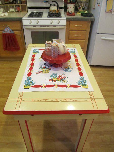 1940's kitchen table