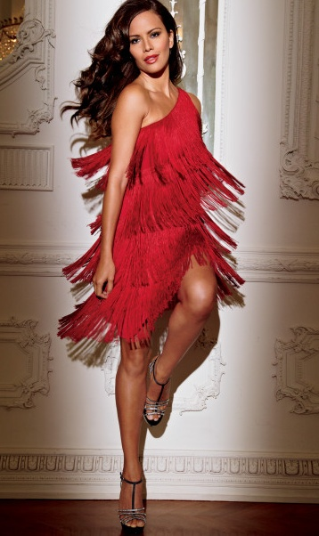 Trendy Holiday Dresses: Red fringe dress | Sexy, Beauty ...