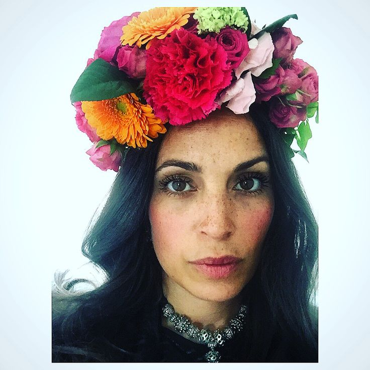 Hairwreath artist dia de los muertos Emilia Flowers
