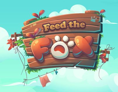 """Check out this @Behance project: """"Feed the Fox GUI"""" https://www.behance.net/gallery/42913709/Feed-the-Fox-GUI"""