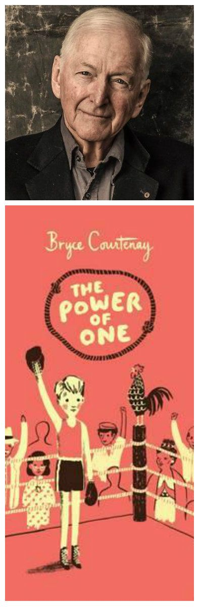 For homeschooling: Bookmark for my children of The Power of One and it's author Bryce Courtney.